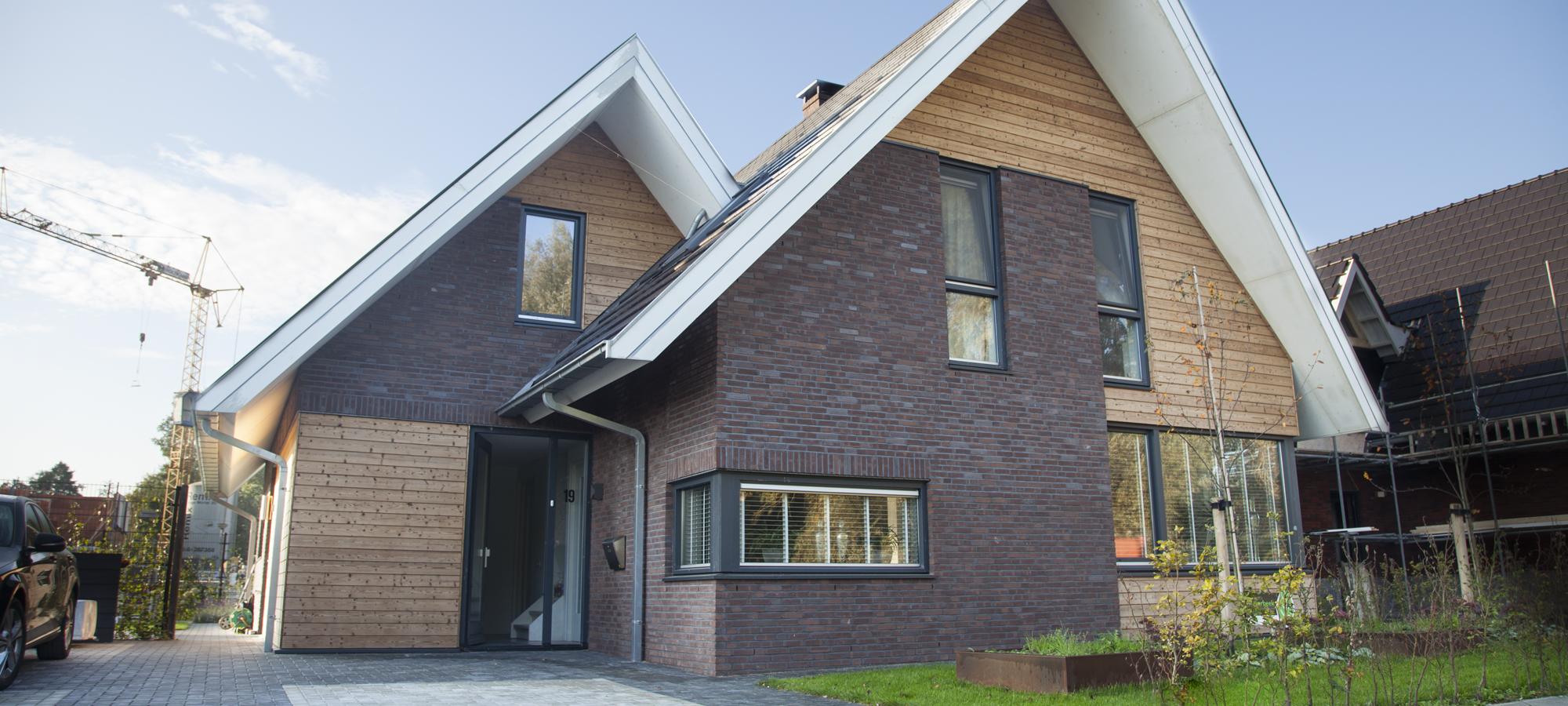 Focus architectuur vrijstaande woning for Moderne vrijstaande woning